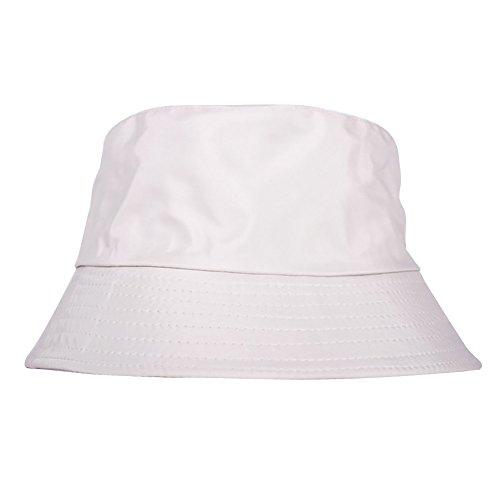 Miyanuby Unisex Herren Damen Bucket Hut Baumwolle Packable Camping Outdoor Fischer Hut Sommermütze für Männer und Frauen Packable Bucket