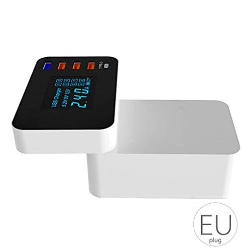 Floridivy Handy Quick Charge USB3.0 Ladegerät 5 Port QC3.0 Smartphone-Ladegerät Anzeigen-Wiedereinbau für Pda-smartphone-standard