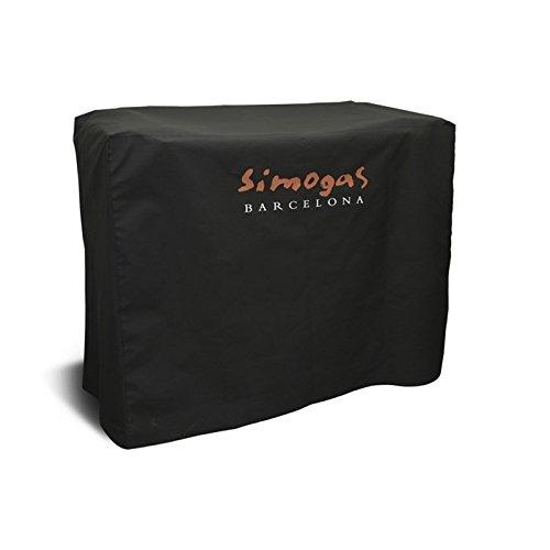 Simogas HC-50 Housse de Protection pour Plancha sur Chariot PVC Noir 130 x 50 x 70 cm