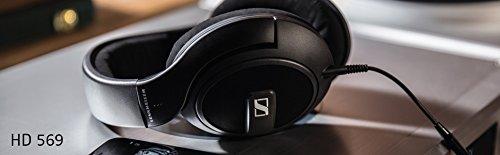 Sennheiser HD 569 Headset (ohrumschließendes, geschlossenes, für Anrufe/Musik) matt-schwarz - 6