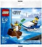 Lego City 30227 Poilzei Küstenwache Setzen 36teilig Gansterjagd