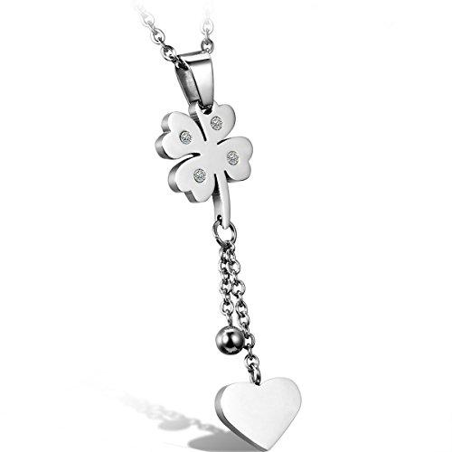 oidea-bijoux-collier-femme-pendentif-coeur-trefle-acier-inoxydable-couleur-argent-chaine-45cm-avec-s