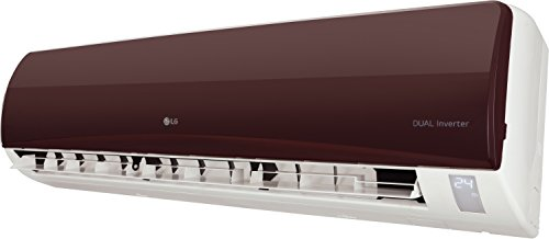 LG 1.5 Ton 3 Star Inverter Split AC (Copper, JS-Q18RUXA, Nova Red ...