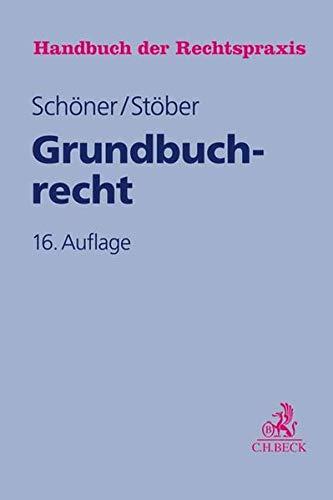 Grundbuchrecht (Handbuch der Rechtspraxis: HRP, Band 4)