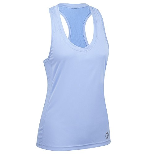 Tenn Ladies Cycling/Sports Vest Top - Placid Blue - 18