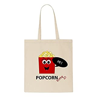 Popcorn natürliche organische Tasche / natural organic Bag (Beige