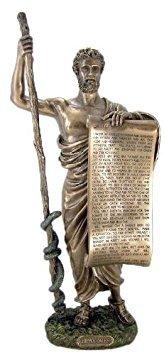 Hippokrates von COS Beteiligung hippokratischen Eid Arzt Statue Skulptur Figur (Hippokrates-statue)