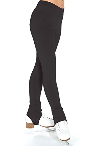 Jerry 's 365Fleece Steigbügel Hose, Damen Mädchen, schwarz Jerrys Fleece
