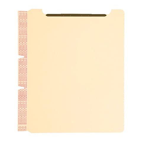 Smead Manufacturing Company SMD68027 Self-Adhesive Folder Divider- w-Fastener- Letter- Manila