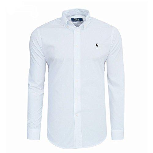 Ralph Lauren–Chemise–Slim Fit–à manches longues Blanc - blanc