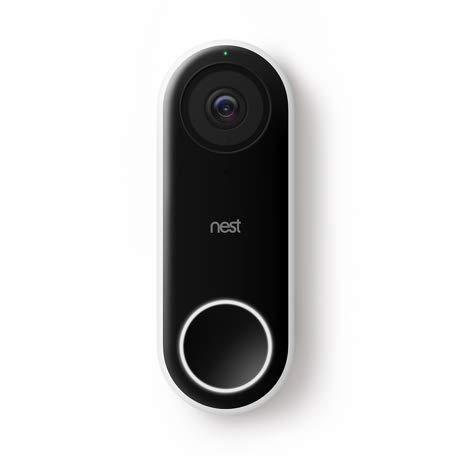 Foto Nest Hello sistema per video-citofono Nero, Bianco 3 MP