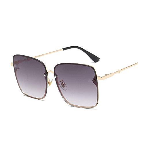 WERERT Sportbrille Sonnenbrillen Oversize Square Sunglasses Men Women Celebrity Sun Glasses Male Driving Female Shades Uv400