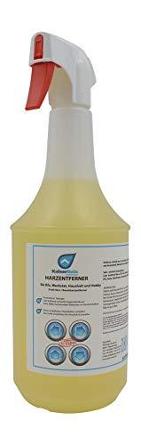 KaiserRein Harzentferner 1 L Spray für Kfz, Werkstat, Haushalt und Hobby Profi Harz/Baumharzentferner
