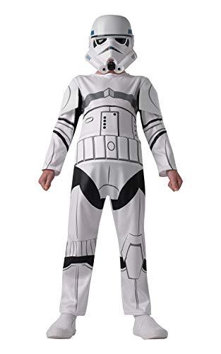 Rubie's Stormtrooper Star Wars Rebels Kostüm für Kinder, Größe:M (Storm Trooper Kostüme Für Kinder)