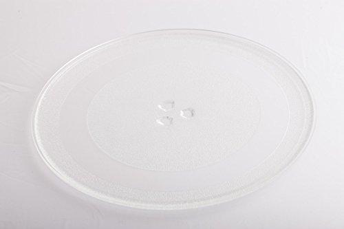 daniplus© Drehteller L33, Glasdrehteller, Mikrowellendrehteller Ø 345 mm, drei Füße passend für LG ua.