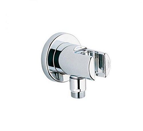 GROHE Relexa | Brause- und Duschsysteme - Wandanschlussbogen | mit Wandbrausehalter, eigensicher, chrom | 28679000