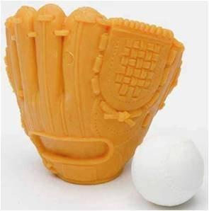 TY Iwako Puzzle Eraserz - Orange Baseballhandschuh