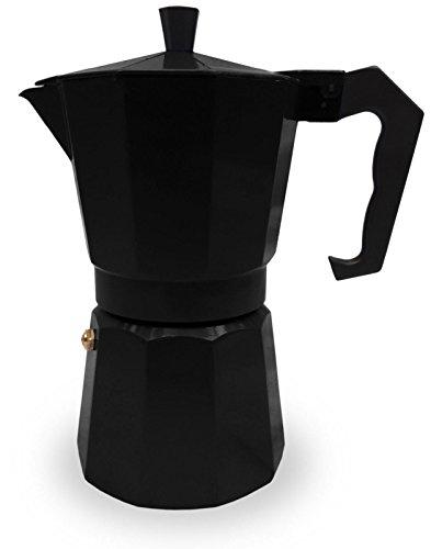 Italian Espresso Stove Top Coffee Maker Pot 6 Cup red