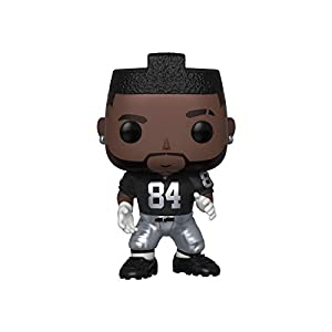 Funko Pop NFL: Raiders-Antonio Brown (Home Jersey) Figura Coleccionable, Multicolor (43975)