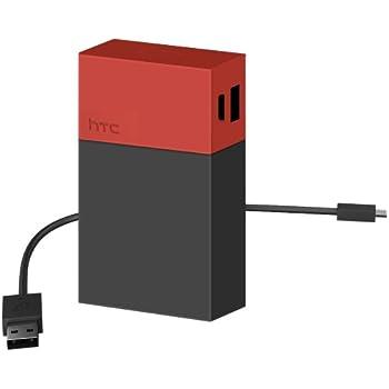 HTC 9000 mAh Power Bank BB G900 - Retail Packaging - Black/Orange