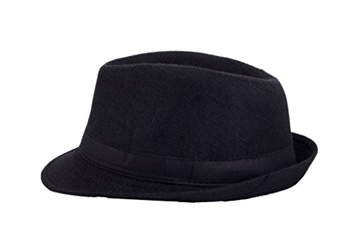 42% OFF on InnovationTheStore Mens Fedora Hat HM16black on Amazon ... 32640842810
