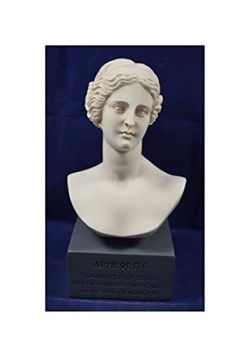 Estia Creations Aphrodite Skulptur Venus Statue Göttin der Liebe Museum Reproduktion Brustumfang