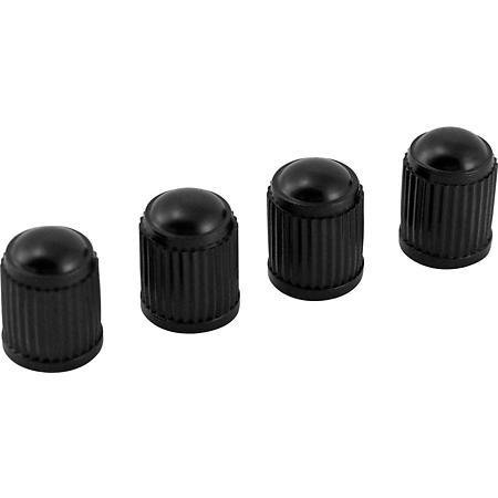 FOUR PLASTIC OEM TYRE GOOD QUALITY WHEEL AIR VALVE DUST CAPS Screw Fit