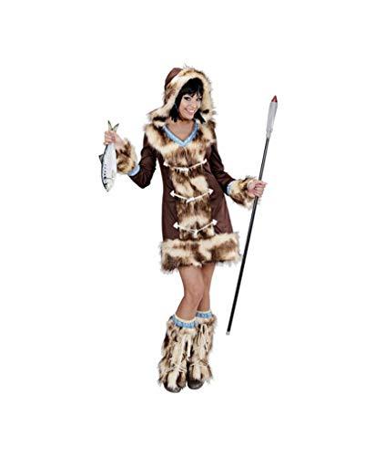 Inuit Kostüm Damen - Horror-Shop Inuit Damen Kostüm