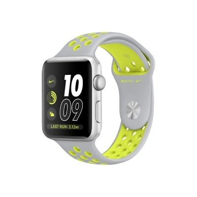 Apple Watch S2Nike + Smartwatch Silber/Grün