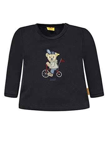 Steiff Steiff Baby-Jungen Langarmshirt T-Shirt 1/1 Arm, Blau (Marine|Blue 3032), 56