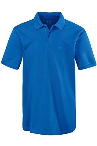 JP 1880 Herren große Größen bis 8XL, Poloshirt, Oberteil, T-Shirt mit Knopfleiste & Hemdkragen, Pique, Reine Baumwolle tiefblau 7XL 702560 74-7XL (Große T-shirts)