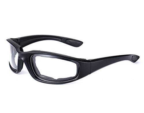 Beydodo Herren Damen Schutzbrille Beschlagfrei Motorradbrille Beschlagfrei Arbeitsbrille für Brillenträger Nachtfahrbrille zum Autofahren Durchsichtig