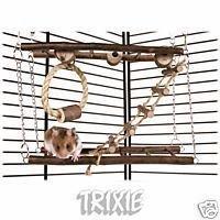 Trixie Small Pet Toy Suspension Bridge Test