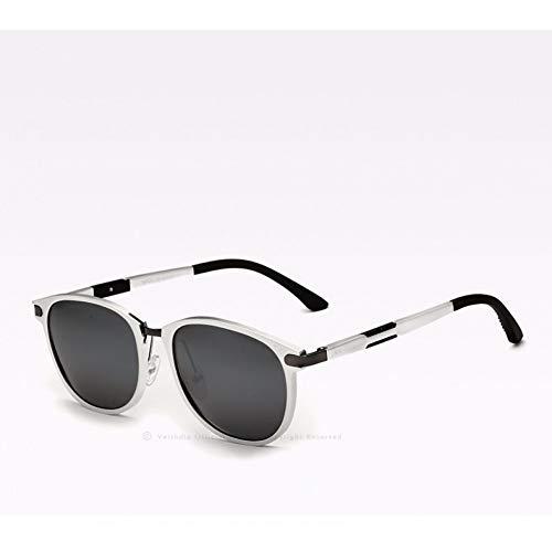 ZRTYJ Sonnenbrille Polarisierte Objektiv Vintage Retro Sonnenbrille Männer Frauen Sonnenbrille Gafas Oculos De Sol Masculino