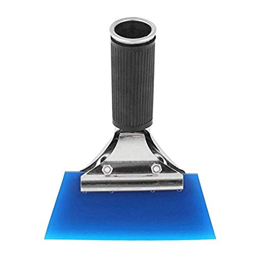 AAQwsde Dauerhaft Durable Auto Fensterreinigung Tönungsfolie Schaber Werkzeug (blau) (Farbe : Blau)