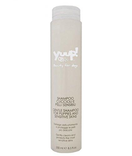 Shampoo Yuup perros y pieles sensibles-Deterge suavemente y pieles Protege las más sensibles, para perros y gatos -
