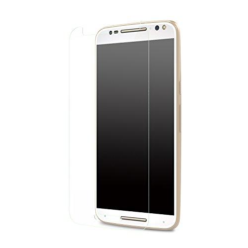 MoKo Motorola Moto X Style Protector de Pantalla - Premium HD Claro...