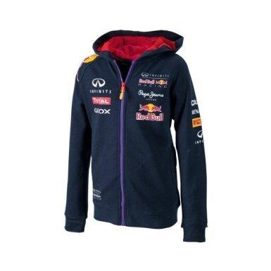 Infiniti Red Bull Racing Official Teamline Kinder Hoodie, Kinder Sweat Jacke, Formel 1, navy, 6 (Racing Jacken)