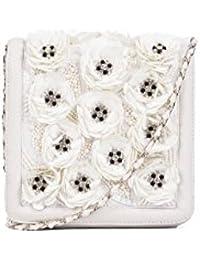 Nitya Biswas Women's Messenger Bag (Ivory)