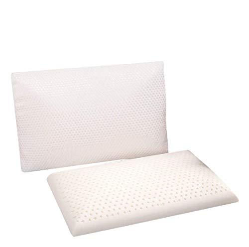 Do4U Slim Sleeper - Naturlatex-Schaumkissen,schlankes,dünnes Kissen,Low Profile,Anti-Schnarch-Tiefschlaf-Bauchschläfer,ideal bei Nackenschmerzen,Kopfschmerzen und Schlafstörungen