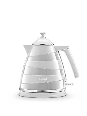 De'Longhi Avvolta Kba3001.w bouilloire Design enveloppant 1.7L–Blanc
