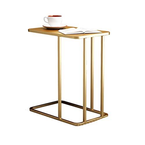 Table d'appoint Petite Table Basse Simple en Fer forgé Salon côté canapé