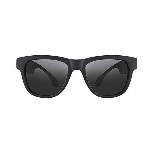 tingtin Knochenleitung Bluetooth Brille Drahtloser Wireless Headset Earphone polarisierte Sonnenbrille Sports Outdoor Stereomusik Kopfhörer mit Mikrofon für IOS/Android / Windows