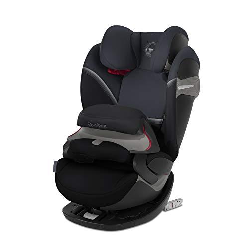 CYBEX Gold 2-in-1 Kinder-Autositz Pallas S-Fix, für Autos mit und ohne ISOFIX, Gruppe 1/2/3 (9-36 kg), Ab ca. 9 Monate bis ca. 12 Jahre, granite black