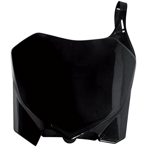 POLISPORT placa delantera Número 8658200001), color negro