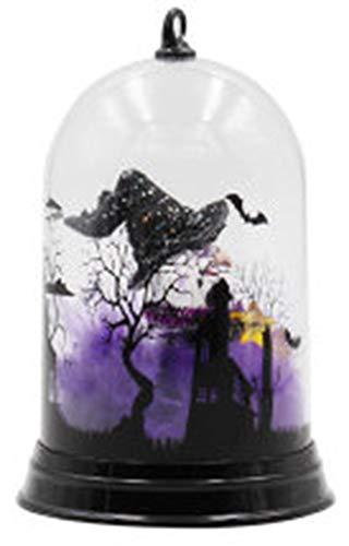 PENGYUE Kerzeneffekt Licht Halloween dekorative LED Lampe Schloss Kürbis Friedhof Spooky Bar Party Light