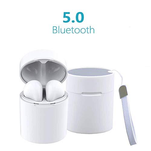 Auriculares Inalámbricos X10, Auriculares Bluetooth 5.0 Mini Auriculares Deporte con Estuche de Carga Manos Libres Bluetooth para Huawei Honor Nokia LG MI Samsung Galaxy i-Phone