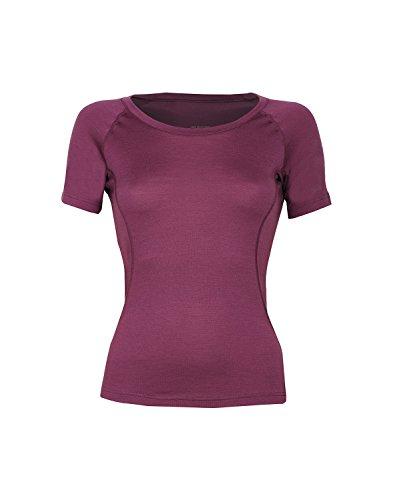 DILLING Weiches Damen T-Shirt aus 100% Merinowolle