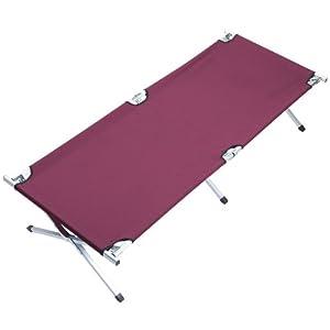 31kmVnLQYXL. SS300  - Skandika Camping Bed XXL Comfortable Camping Lounger 210 x 80cm