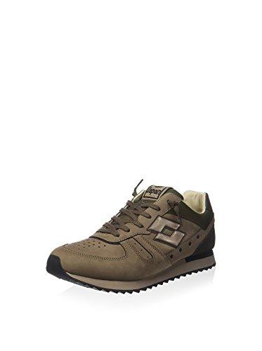 Lotto Leggenda S5815 Sneakers Uomo Pelle Taupe Marrone